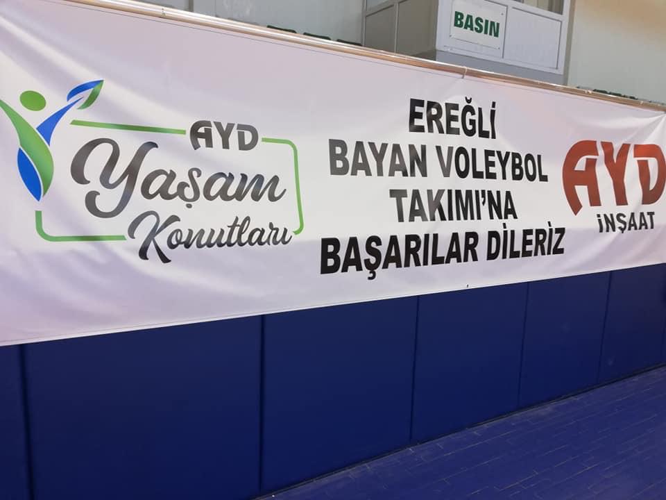 Ereğli Gençlik Bayan Voleybol takımımıza Kayseri deplasmanı öncesi başarılar diliyoruz
